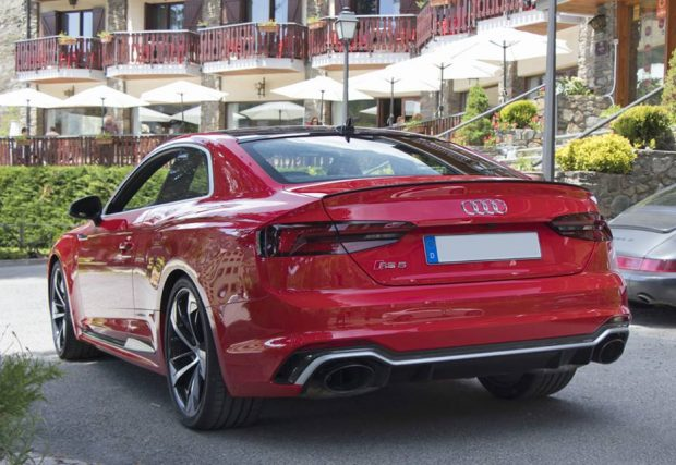 nouvell audi rs5 andorre