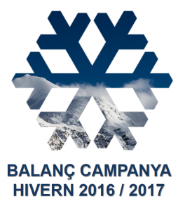 tourist number ski season andorra 2016-2017