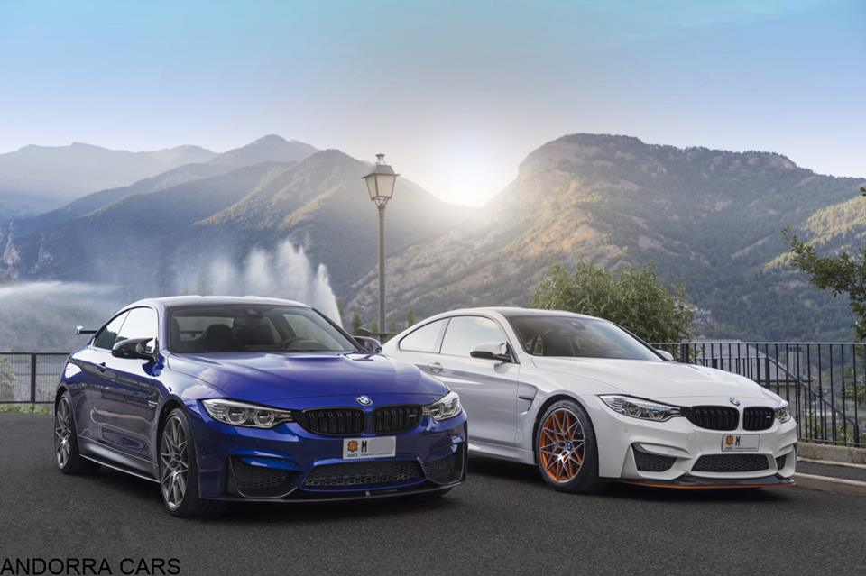 Bmw M4 Family Blue And White All Andorra