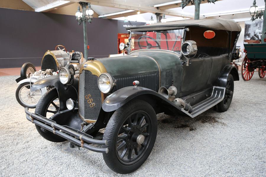 Mors Torpedo Type SSS : voiture ancienne_vue de devant_histoire_caracteristiques