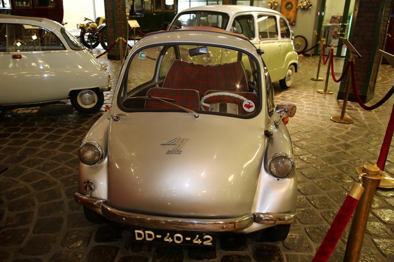 Heinkel Kabine Troyan 200 : voiture marrante