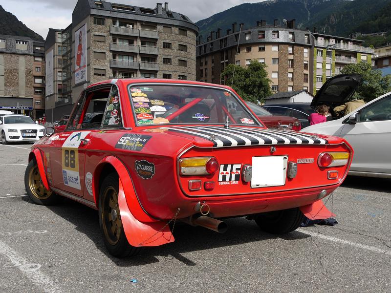 Lancia Fulvia rally version • ALL ANDORRA