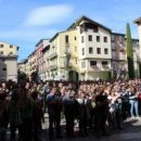 A demonstration of la Seu d'Urgell's residents has been held today in protest against police violence during the referendum for the independence of Catalonia