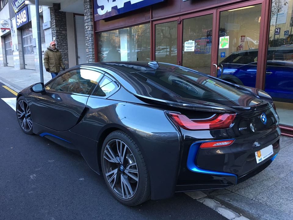 Bmw I8 Sant Julia De Loria All Andorra