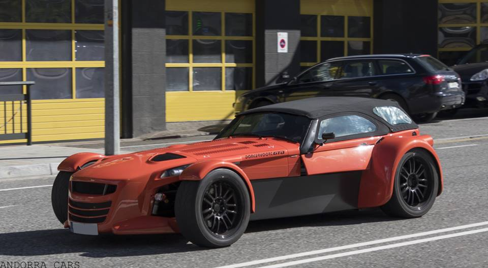 Donkervoort D8 GTO Premium Edition. Puissance : 380 CH