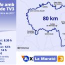 """3 декабря в Каталонии пройдёт благотворительный мотоциклетный заезд """"80 км в знак солидарности сLa Marató de TV3"""" – ежегодным благотворительным марафоном Барселоны"""