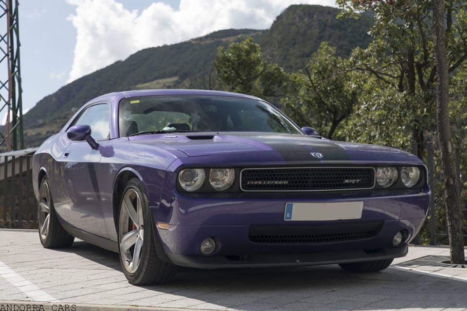 Purple Interceptor Dodge Challenger Srt8 All Andorra