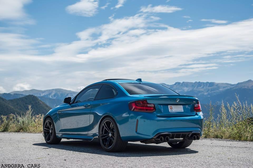 BMW M2 Blue: Andorra Mountains • ALL ANDORRA