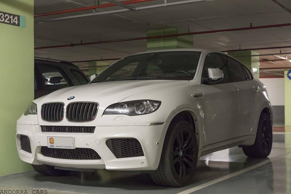 Bmw X6 M White On Black Wheels All Andorra