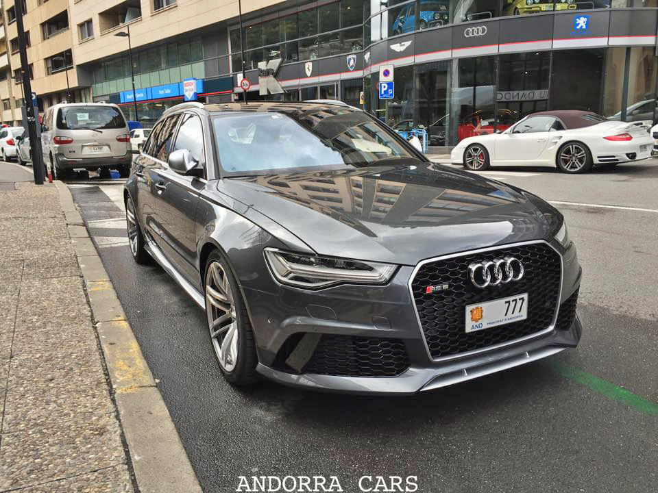 Audi RS6. Version grise