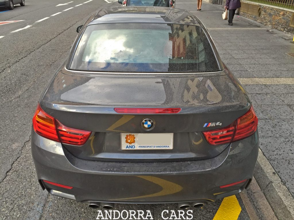 Bmw M4 Couleur Grise All Andorra