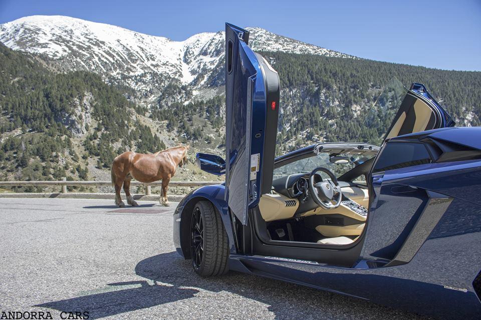 Lamborghini Aventador LP700-4 Roadster avec 700 CH VS 1 cheval (1 CH)