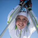 Спортсменка из России Екатерина Осичкина завоевала первое место в вертикальной гонке на лыжах в Пюи Сент Винсент (Франция)