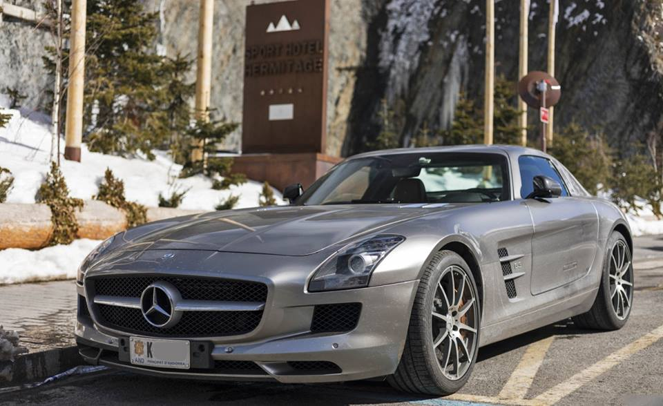 Mercedes Benz Sls Amg 622 Grey Horse Power All Andorra