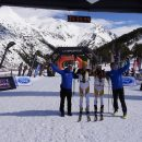 Ski alpinisme. Skimo 10. Andorre. Vallnord