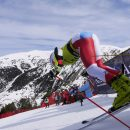European Cup Men's Giant Slalom: Dominik Raschner, Austria is a winner of the season title in the GS discipline