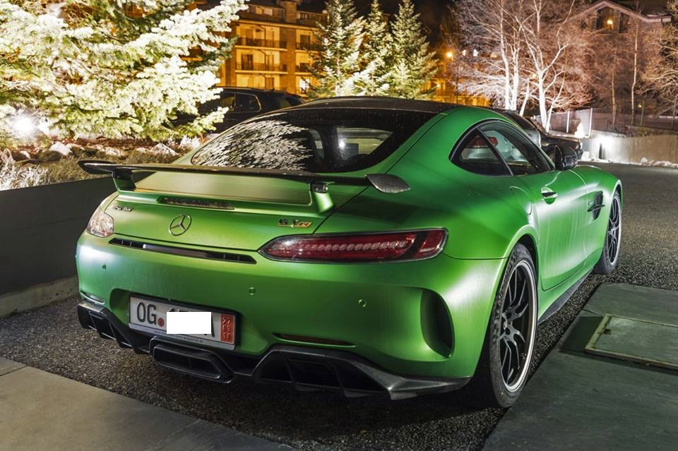 Mercedes Benz Amg Gt R Green Coupe With 585 Hp All Andorra