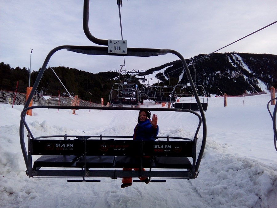 Ла Молина лыжи дети