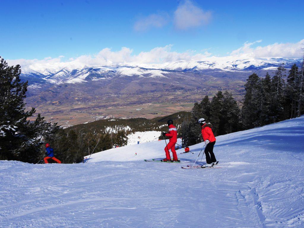 Ла Молина зима лыжи