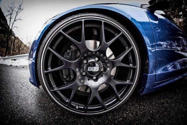BBS Motorsport : roue noire