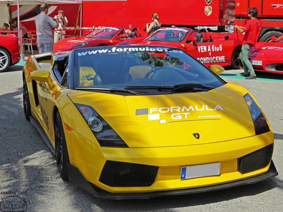 Lamborghini Murcielago Couleur Jaune All Andorra