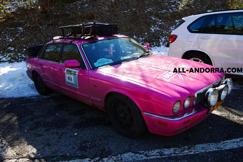 Jaguar XJR X308. Version rose