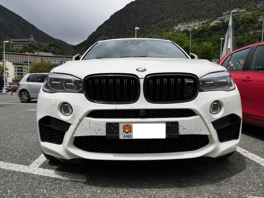 bmw x6 m version blanche avec 567 ch all andorra. Black Bedroom Furniture Sets. Home Design Ideas