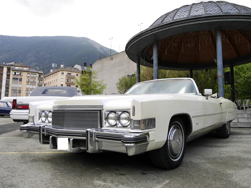 Cadillac Eldorado. Version blanche de 1970