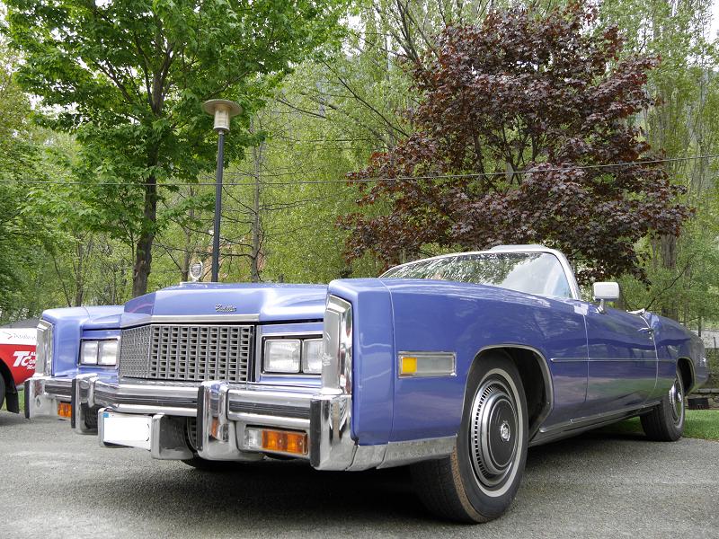 cadillac eldorado meilleures voitures automobiles vehicules transport luxe Amerique foret disques