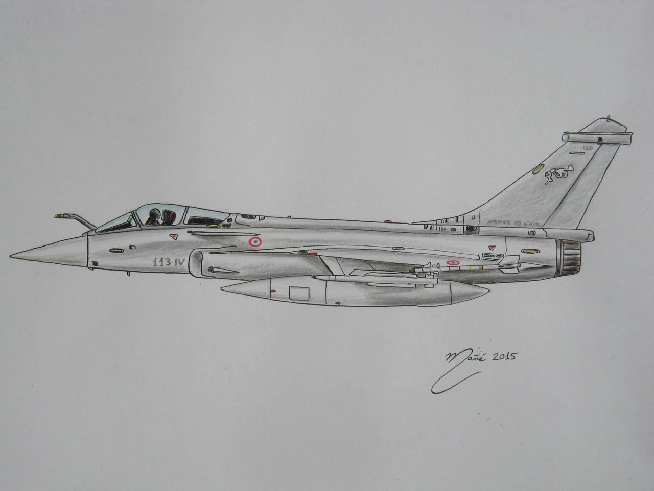 Combat aviation: The Dassault Rafale  A French twin-engine