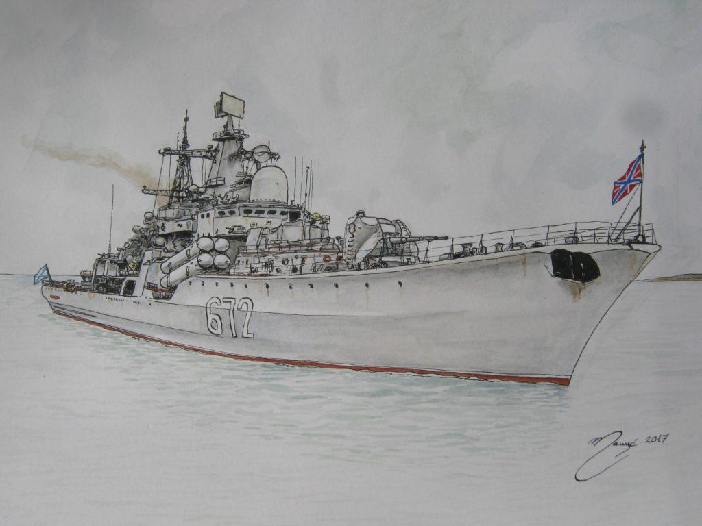 The combat fleet of the world:
