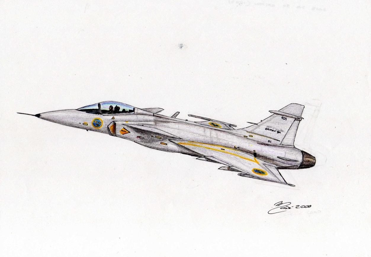 L'aviation militaire des pays du monde: Saab JAS 39 Gripen ...