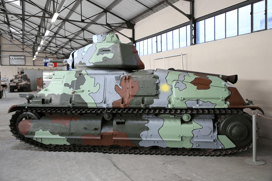 SOMUA S35 - французский кавалерийский танк Второй мировой войны