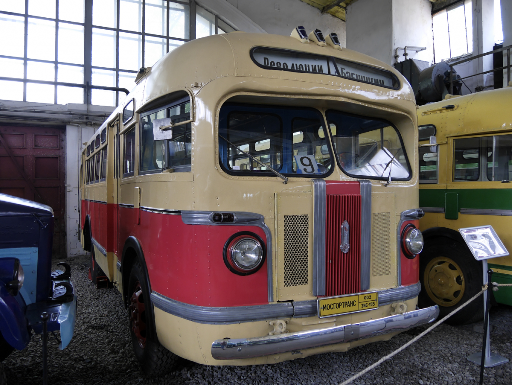 Soviet bus: ZiS 155. Made in 1954