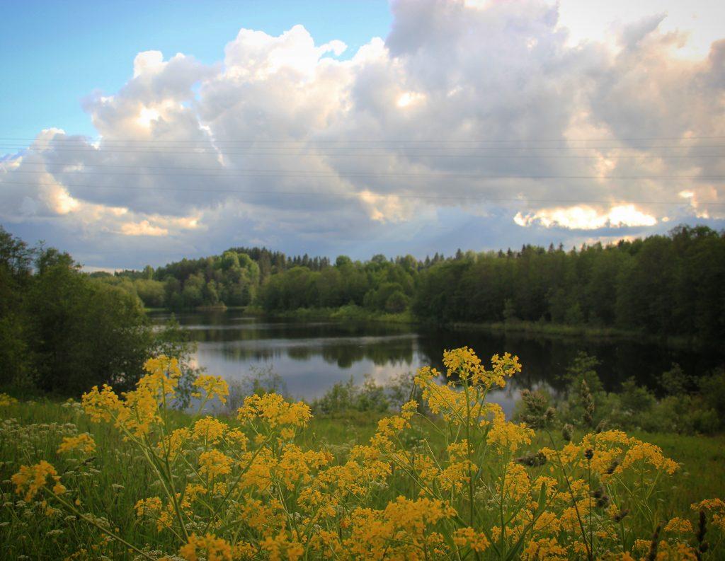 lac Somino Valday_la Russie
