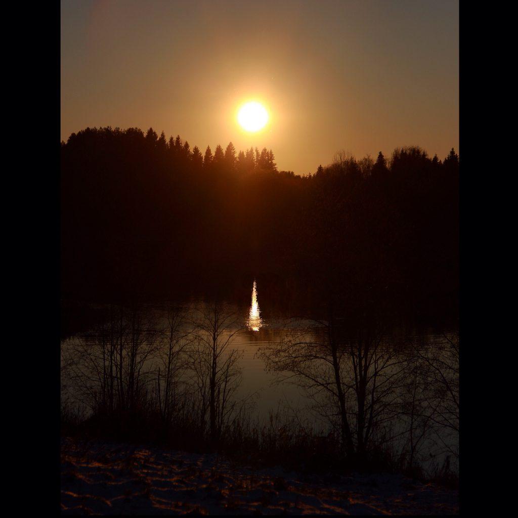 lac Somino Valday soleil