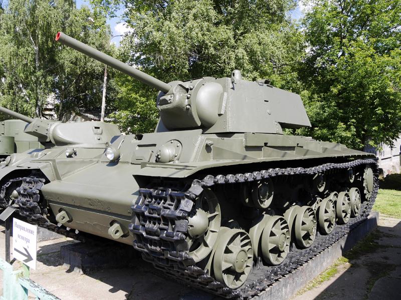 KV-1 : char lourd blindé Soviétique