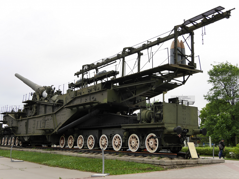 TM-3-12 : transport ferroviaire d'artillerie navale (305 mm). Armée Soviétique_URSS