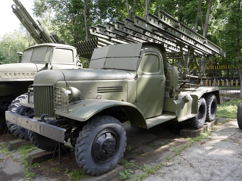 Artillery of the USSR: the Katyusha multiple rocket launcher