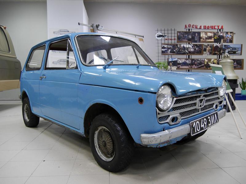 Honda N360. Version bleu clair
