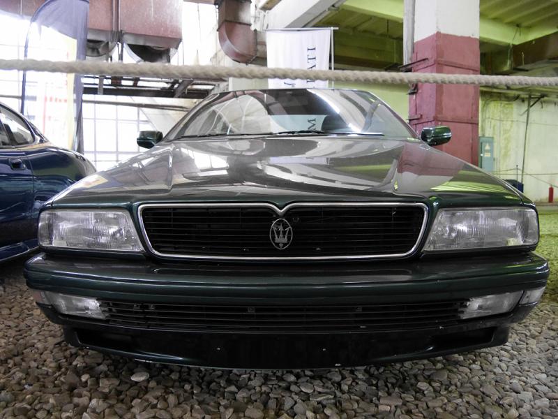 Maserati Quattroporte 4 : berline Italienne. Version vert foncé