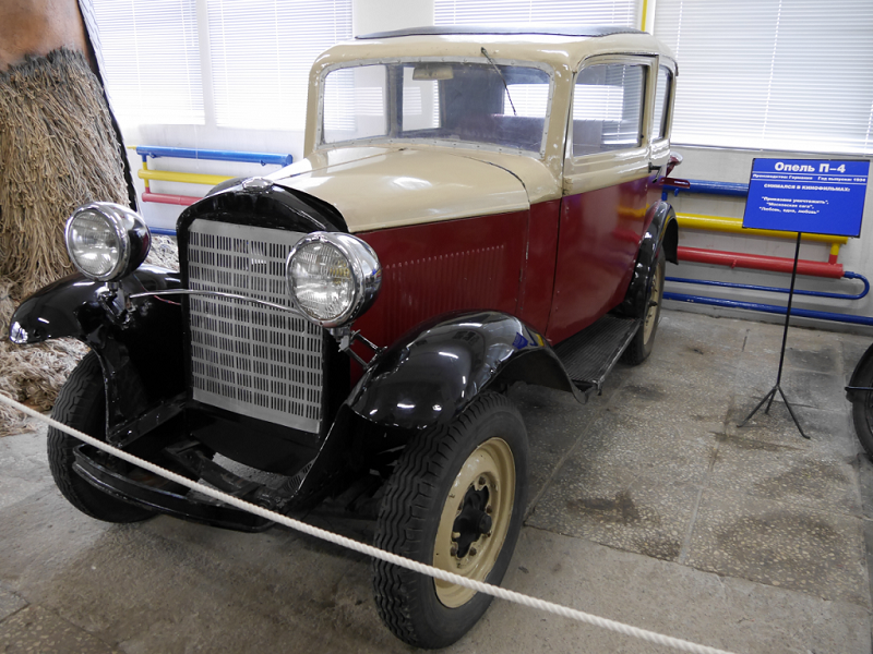Opel P-4 : voiture ancienne