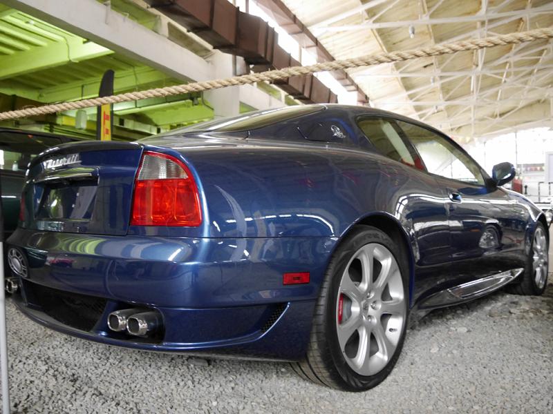 Maserati Gransport MC Victory : voiture rare. Version bleue