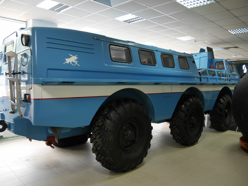 Rare Vehicles Of The USSR: The Cross-country Vehicle ZIL