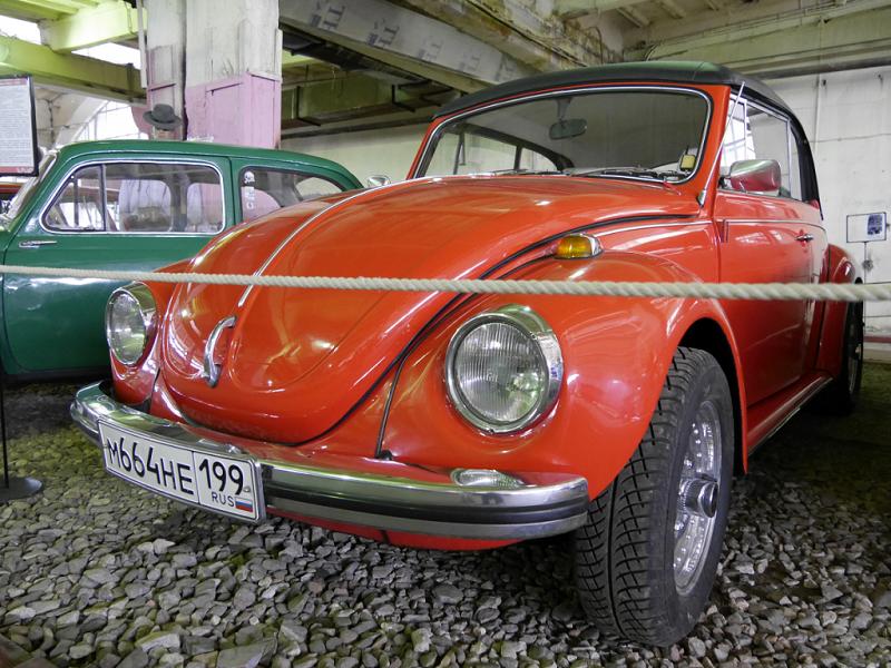 Volkswagen Beetle 1300. Version rouge