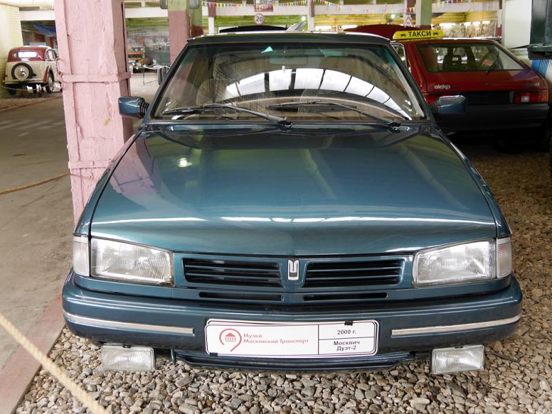 Moskvich Duet 2 coupé : voiture Soviétique