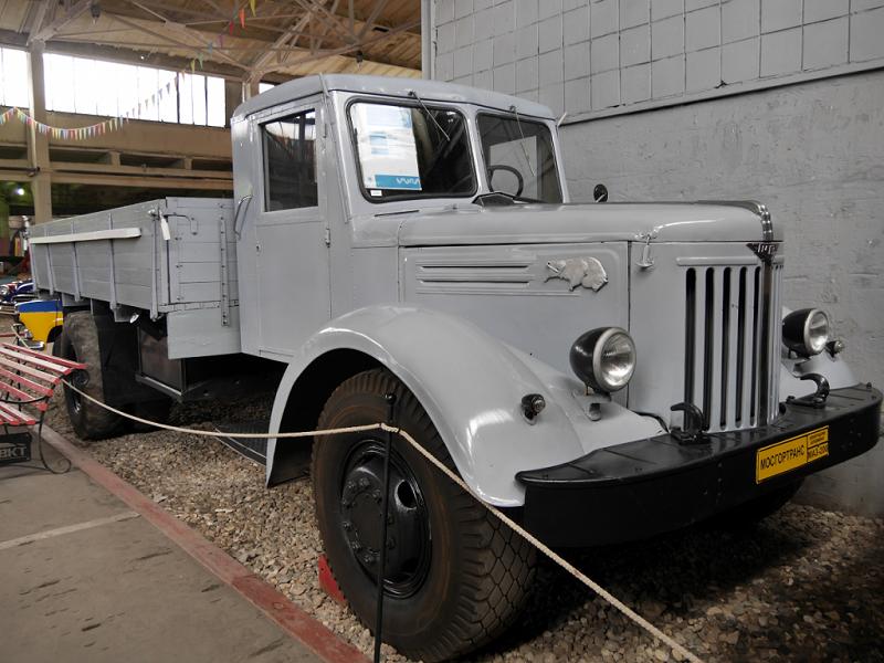 MAZ 20 : camion Soviétique. Version gris clair