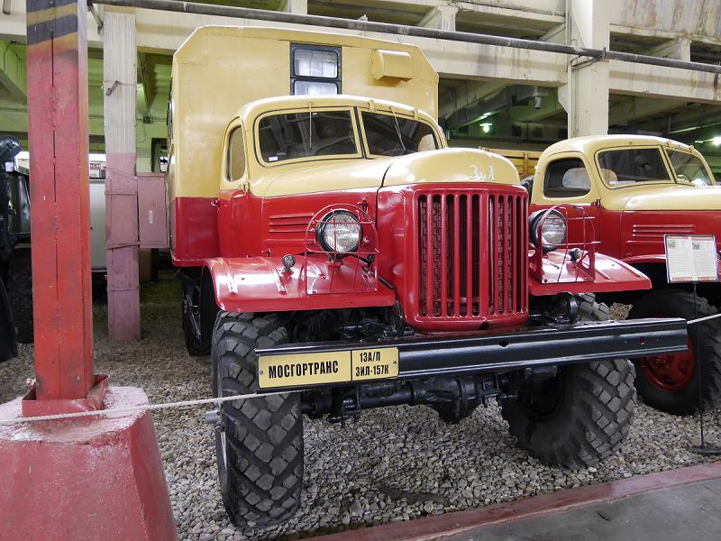 ZiL 157-K-PARM : camion Soviétique. Version jaune et rouge