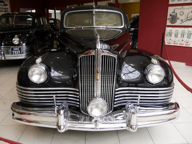 ZiS 115 : voiture rare. Voiture blindée de plus haute classe. Version noire