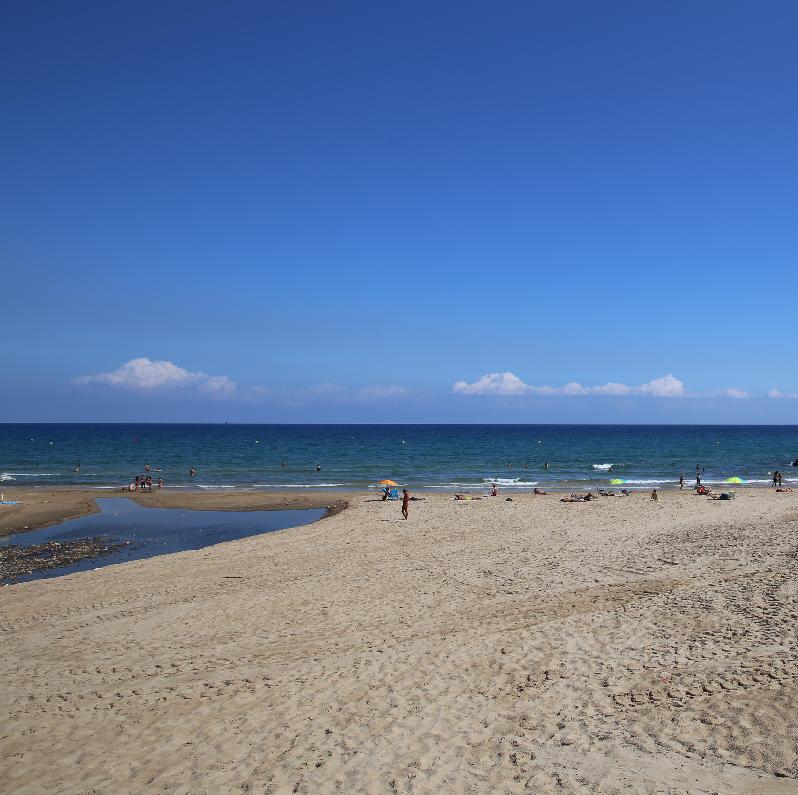 plage de Calafel